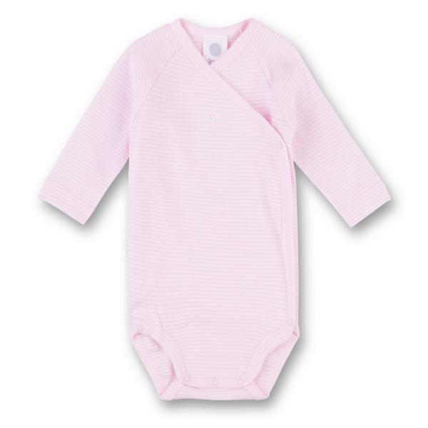 Sanetta ♥ Mädchen Wickelbody langarm ♥ rosa (322459)