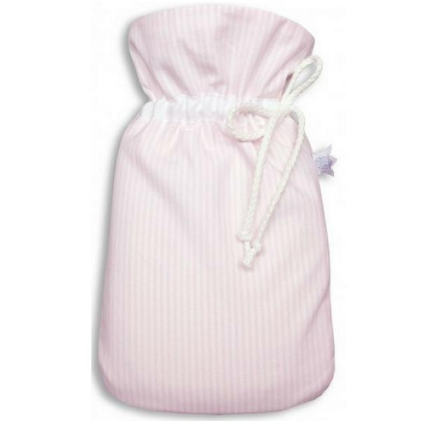 Kleine Baby-Wärmflasche rosa Organic