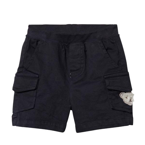 Steiff ♥ Jungen Shorts, BLACK IRIS, L001913312