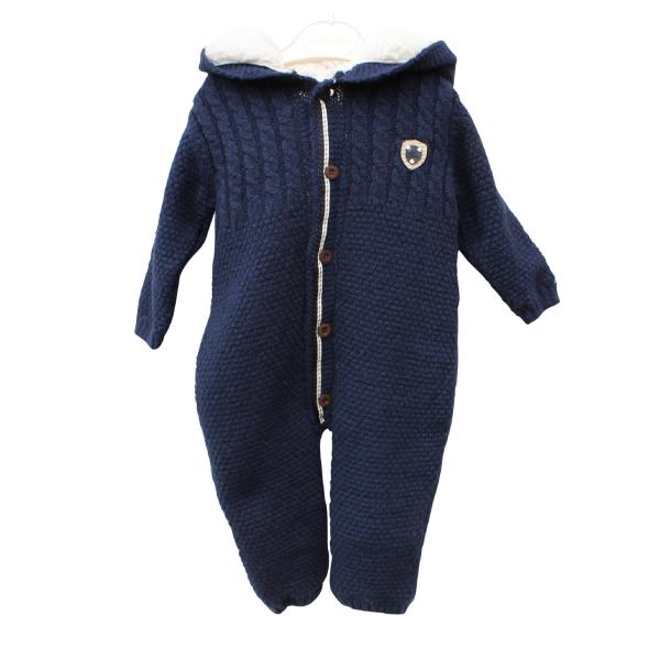Baby Plüsch -Overall Casiope Milarda  482648 dunkelblau