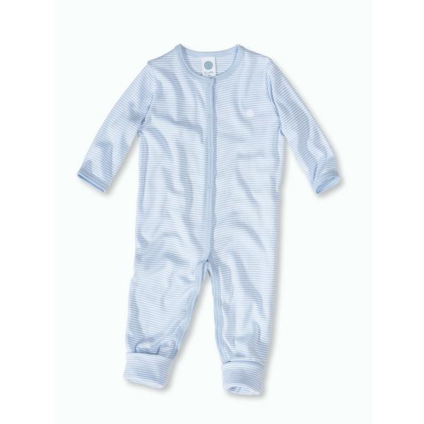 Sanetta ♥ Jungen-Schlafoverall ♥ blue/white