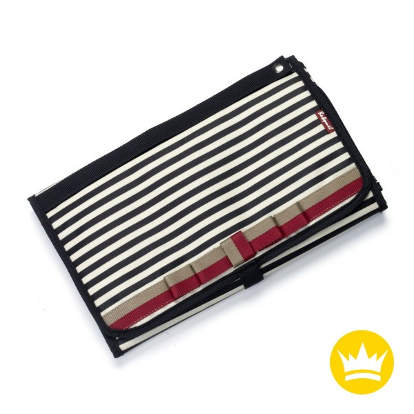 Babymel Wickelunterlage Stripe Navy
