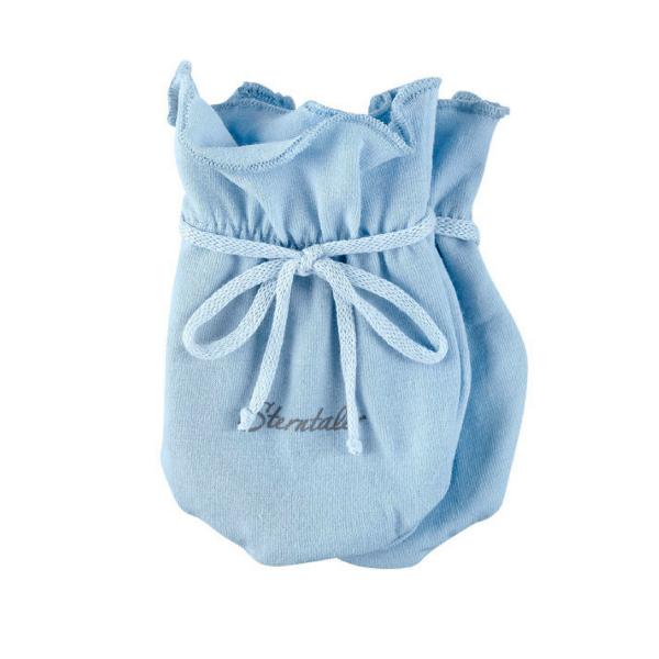 Kratzfäustling Baby hellblau Sterntaler 4001480
