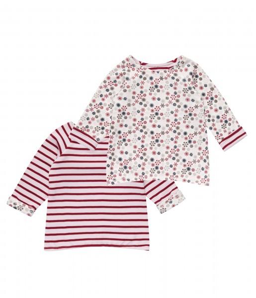 Sense Organics ♥ Baby Mädchen Wende-Shirt, Pink, 1621408