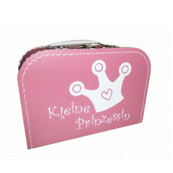 Kinder Papp-Koffer Prinzessin rosa