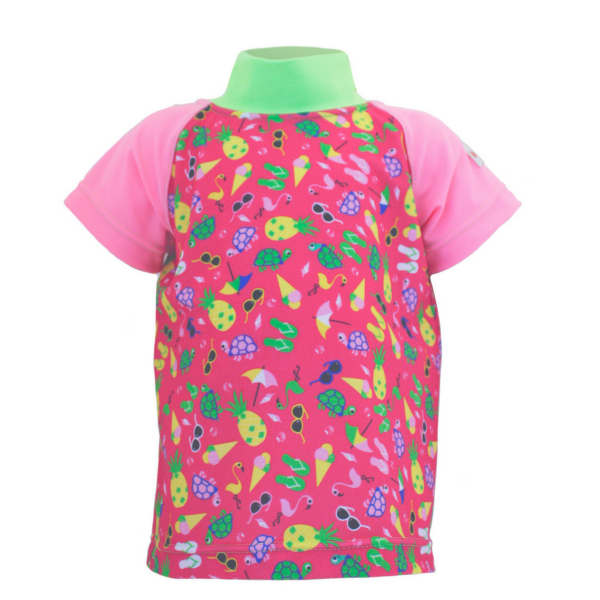 "ImseVimse Baby UV-Shirt ""Pink Beach"""