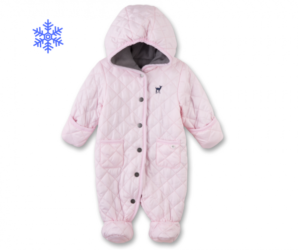 Baby-Winteroverall Rosa