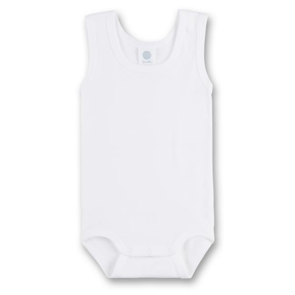 Sanetta ♥ Unisex Body ohne Arm ♥ weiß (308300)