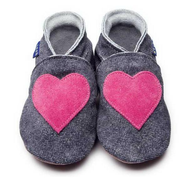 Baby-Krabbelschuhe Love Denim 2645