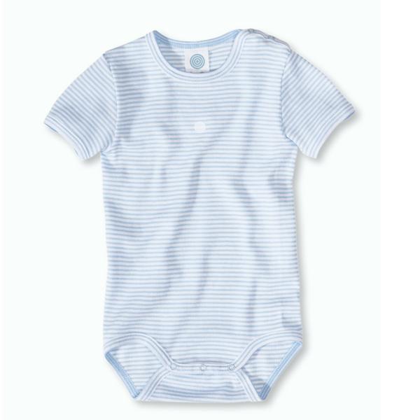 Sanetta ♥ Baby Body blau-weiß Ringel