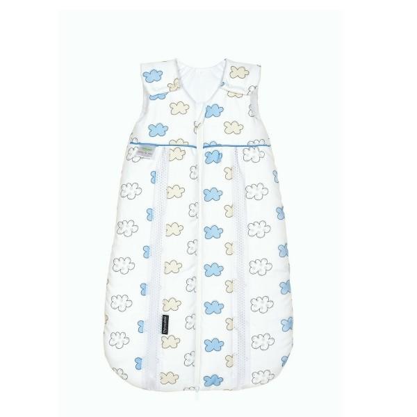 Odenwälder BabyNest ♥ Baby Prima Klima Schlafsack WOLKE-Satin