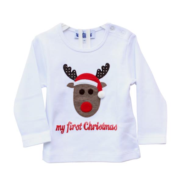 Baby Shirt my first christmas