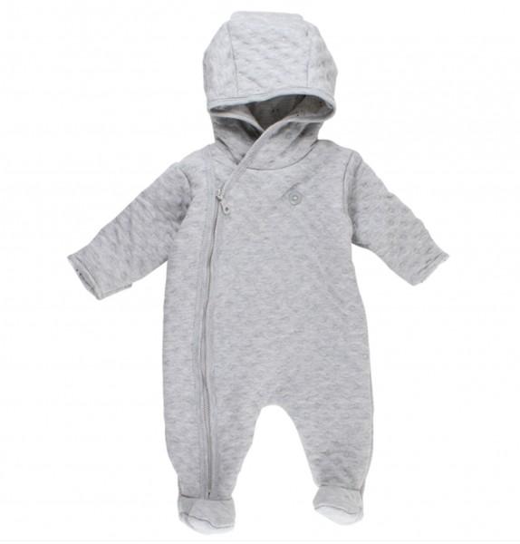 Fixoni ♥ Baby Winter Overall mit Kapuze ♥ grau, 33161