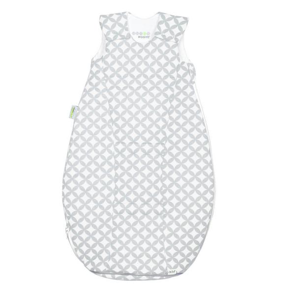 Odenwälder BabyNest ♥ Baby Schlafsack Airpoints, silber, 1402