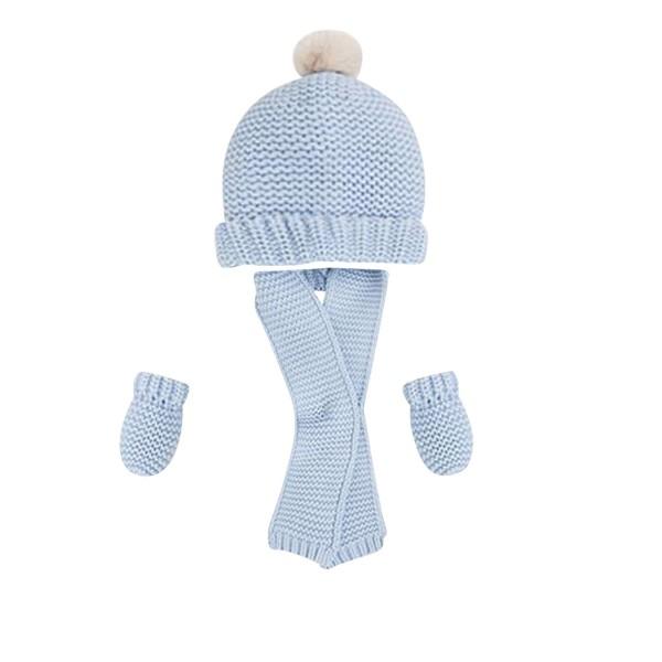 Mayoral Exklusives Baby-Winterset Mütze+Schal+Handschuhe
