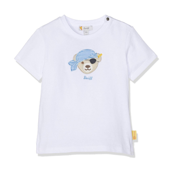 Steiff ♥ Jungen T-Shirt ♥ Bright White L001912303
