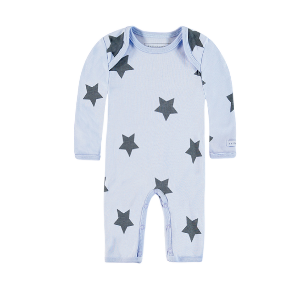 Bellybutton ♥  Baby Jungen Strampler Star World, blau