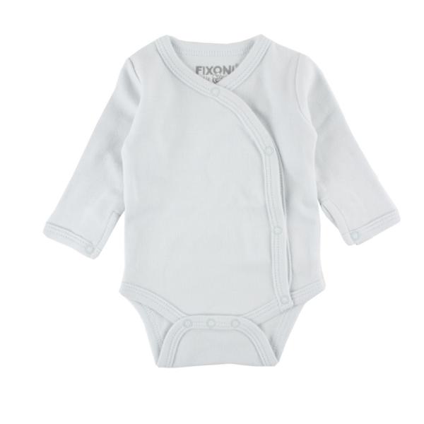 Fixoni ♥ Baby Frühchen Wickel-Body, 32726, hellblau
