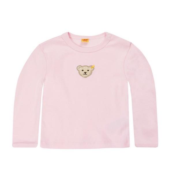 Steiff Baby-Shirt rosa mit Bärchen 6671 Vorderseite