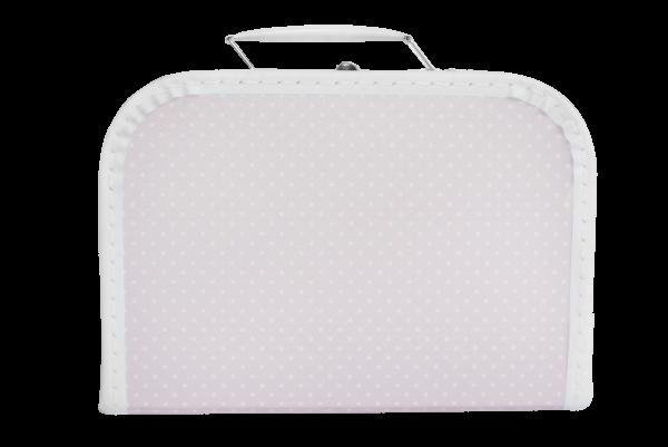 Kinder-Pappkoffer 25 cm rosa