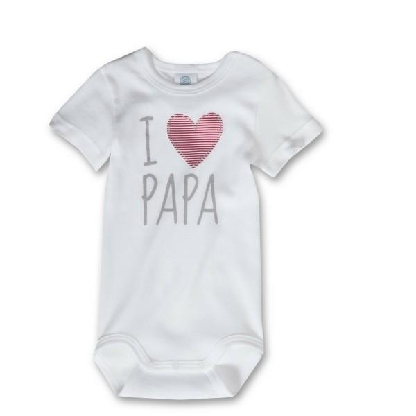Sanetta ♥ Unisex Body  ♥ I love Papa (321851)