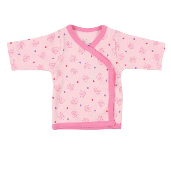 Frühchen-Shirt BIENE rosa von Fixoni