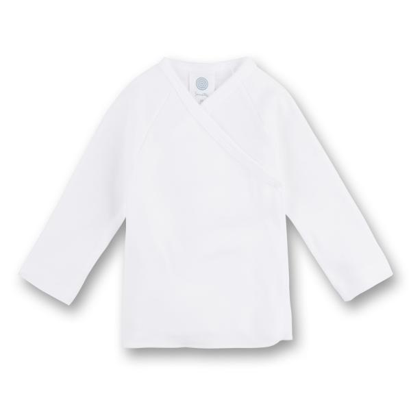 Sanetta ♥ Unisex Flügelhemd langarm ♥ weiß (307500)