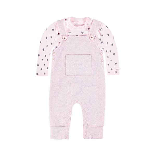 Bellybutton Baby-Latzhose mit Shirt MILA in Organic