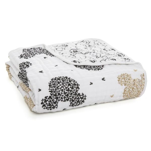 aden + anais ♥ Disney baby dream blanket Decke ♥ Micky's 90th, DINS256G