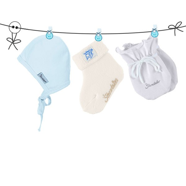 Baby Erstausstattung Set BOY WHITE