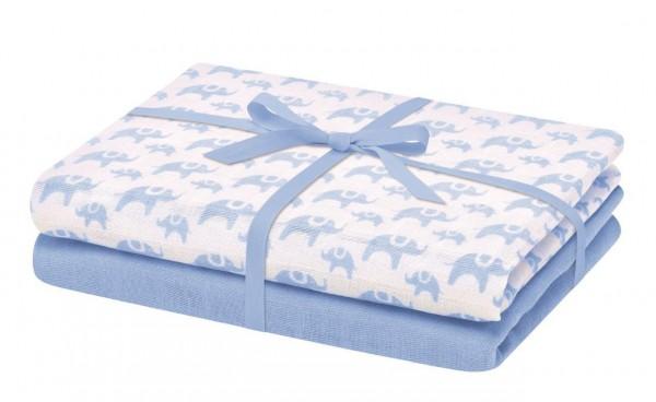 Bellybutton Moltontücher im Set blau