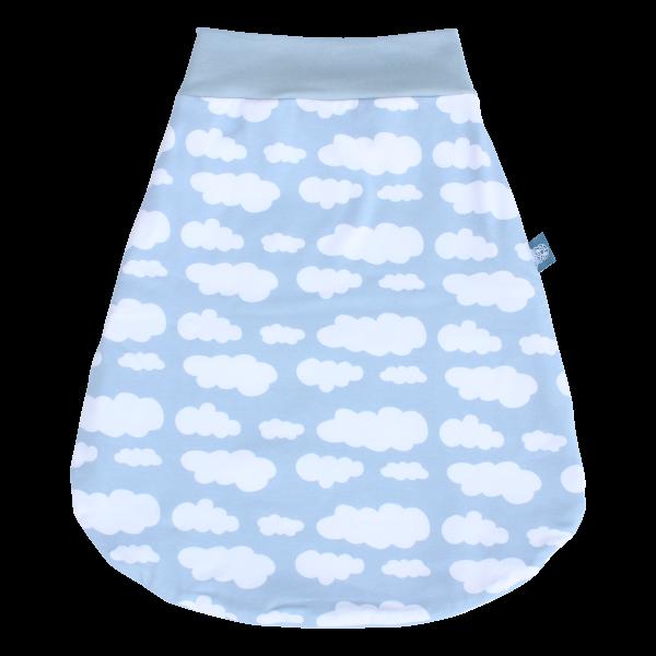Strampelsack Blaue Wolke aus -Bio-Baumwolle