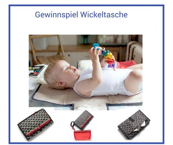 Gewinnspiel-Wickeltasche
